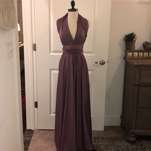 abfa7d456a6 etsy. EUC! Infinity wrap around dress - Mauve - One Size